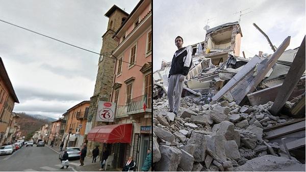 Ilyen volt, ilyen lett – megrázó képsorok a múlt heti olaszországi földrengésről
