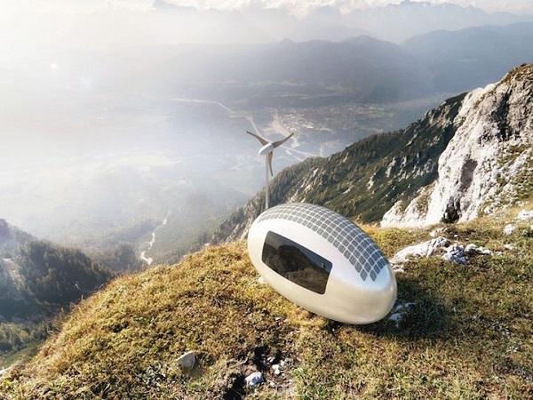 """Ez lenne a jövő otthona? Környezetkímélő, önfenntartó és bárhova """"elvihető""""."""