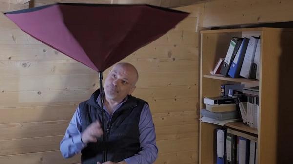 Forradalmasíthatja az esernyőket ez az új ötlet!