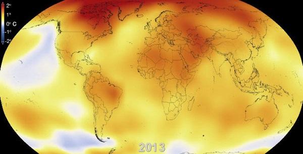 Mi lesz így velünk? Beszédes videón mutatja be a NASA, mennyit melegedett Földünk.