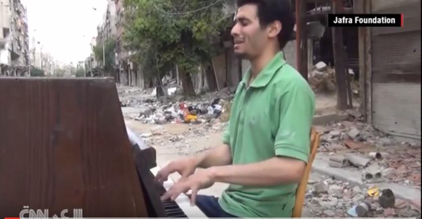 A zene erősebb a halálnál – felemelő videó