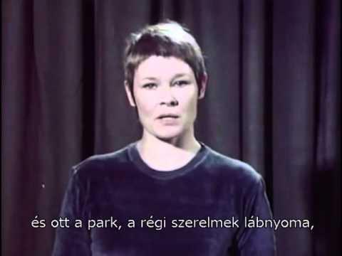 Radnóti és Judi Dench felejthetetlen találkozása