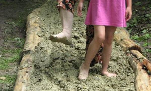 21-féle járofelületet próbálhatunk ki a tabajdi Mezítlábas Parkban