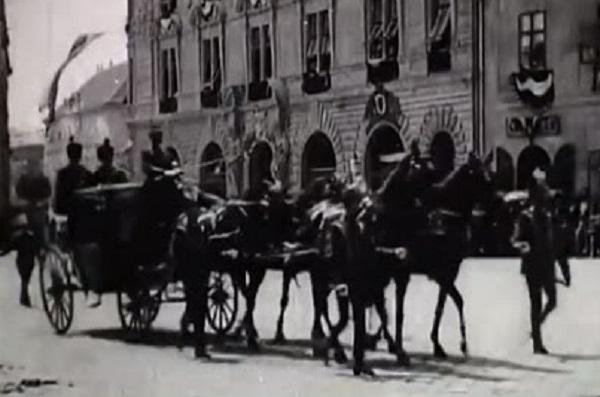 Ez volt az első magyarországi mozgókép. 1896-ban készült!
