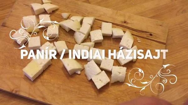 Egyperces receptek: Könnyű, ízletes indiai házisajt – szemléltető videóval!