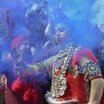 Egzotikus képek a hinduk egyik legszentebb ünnepéről