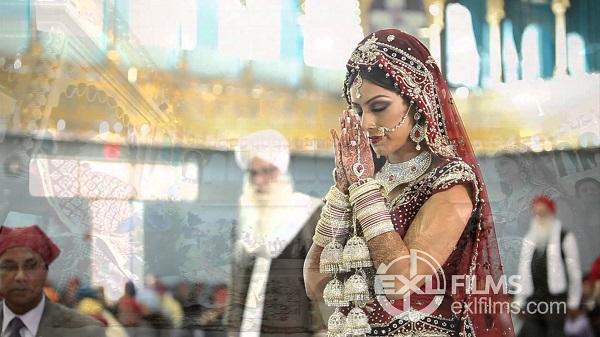 Pillants bele egy varázslatos szikh esküvőbe!