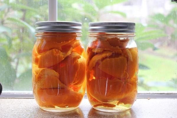 Univerzális tisztító- és fertőtlenítőszer narancshéjból