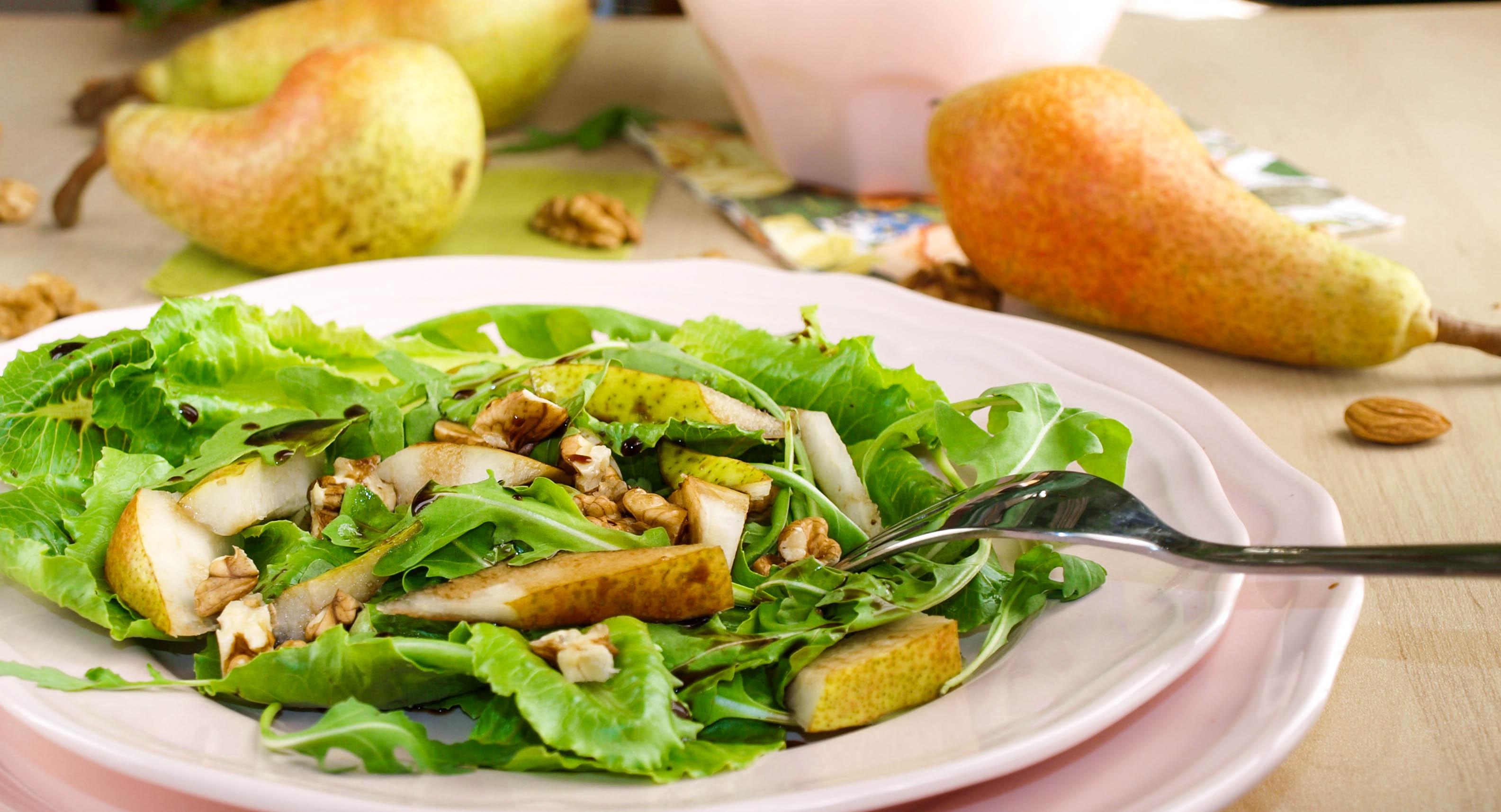 Körtés római saláta