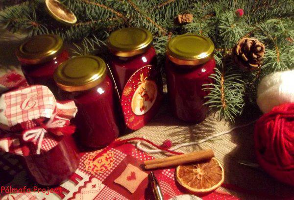 Céklás karácsonyi lekvár