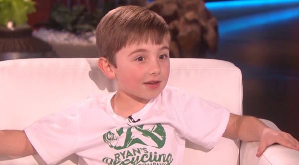 Ez a 7 éves kisfiú nemrég környezetvédelmi céget alapított és máris nyereséges!