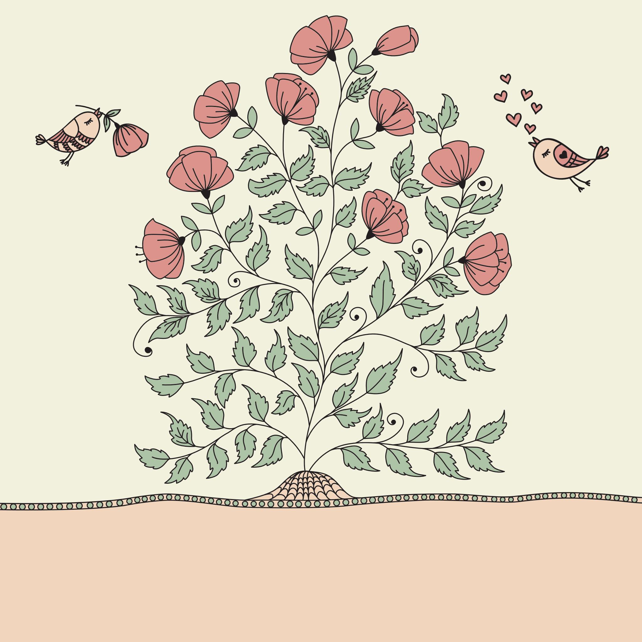 A rózsabokor