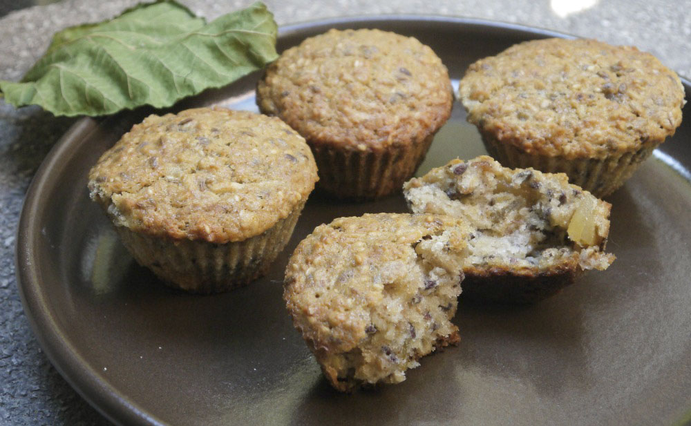 Gyömbéres-müzlis muffin