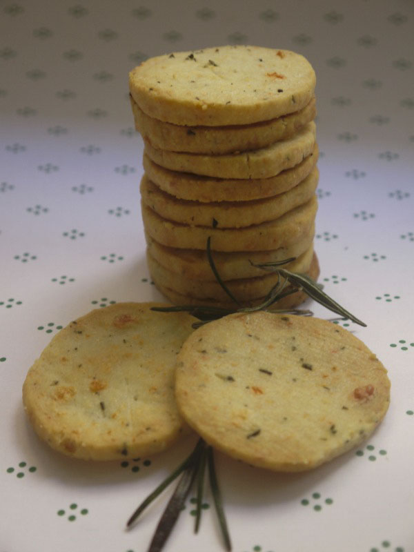 Rozmaringos sajtos tallér