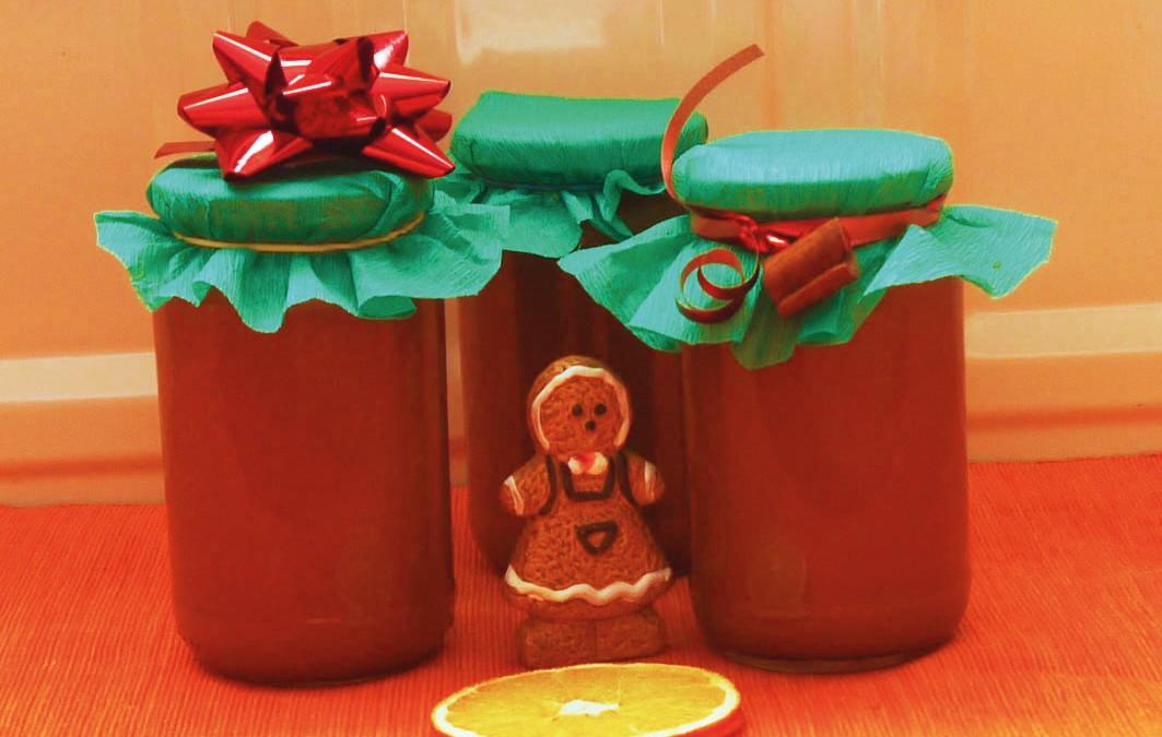Sütőtök-alma-narancs lekvár