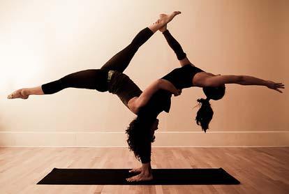 Akro jóga: életöröm