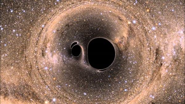 A világűr hangjai – ilyen, amikor két fekete lyuk összeütközik
