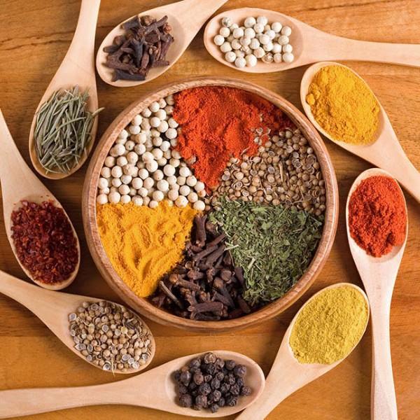 A világ konyháinak három legjellemzőbb fűszere