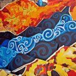 """""""Ékszerdobozzá"""" varázsolta Tapolca egyik lépcsősorát a tehetséges, fiatal művész"""