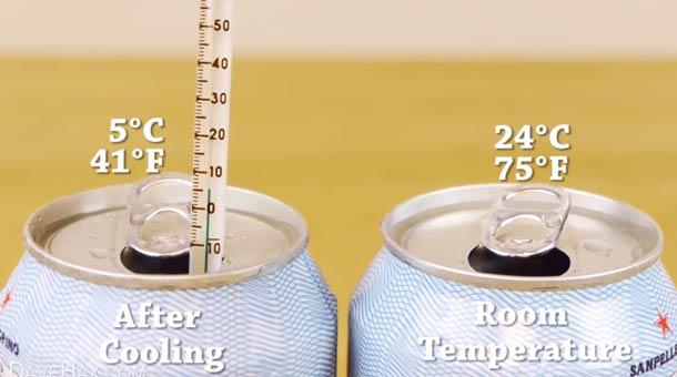 Így hűtsd jéghidegre italodat, alig két perc alatt!