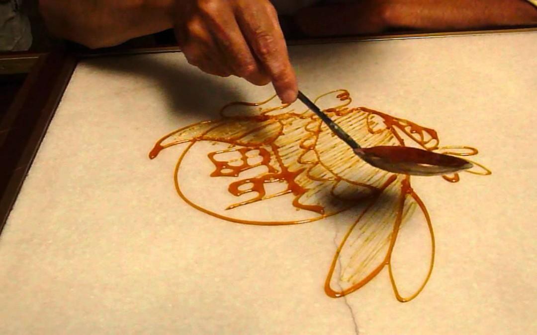 Ősi, kínai népművészet: festés cukorral