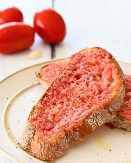 Pan con tomate – vagyis helyettesíthetjük a margarint!