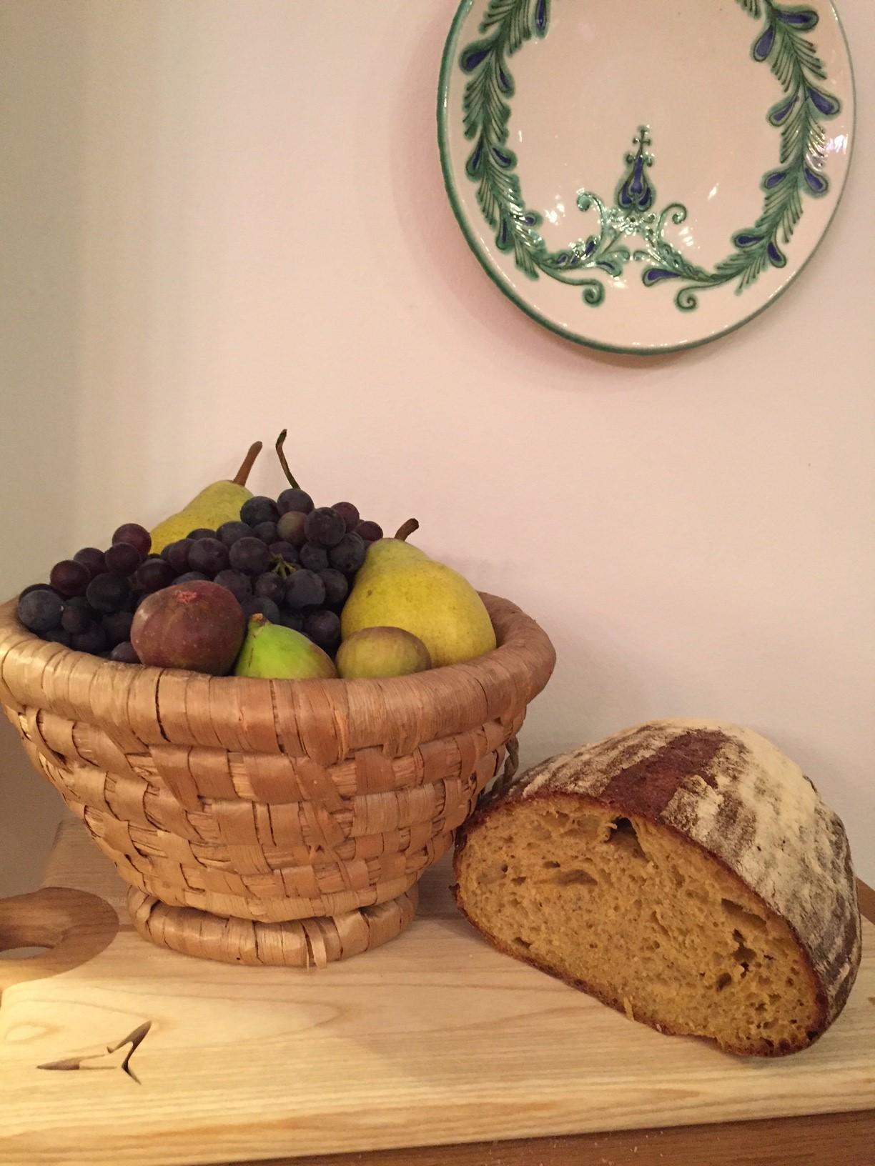 Sütőtökös tönköly kovászos kenyér