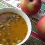 Sült almás-tökös krémleves recept