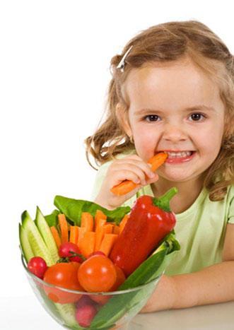 Vegetáriánus gyerekek