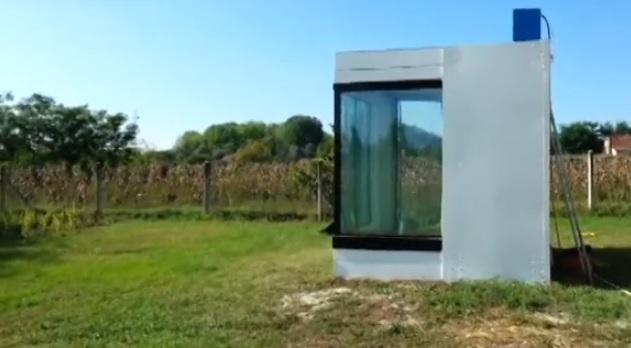 Újabb ok a büszkeségre! Kecskeméten épült fel a világ első vízháza